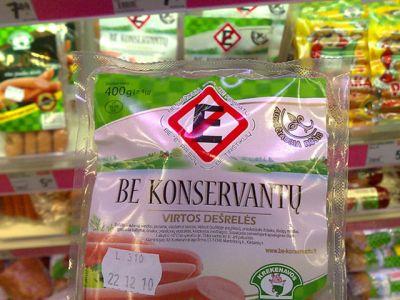 Etikečių spaudinimas ant maisto produktų
